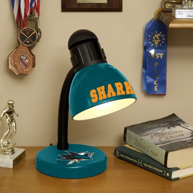 San Jose Sharks Dorm Lamp