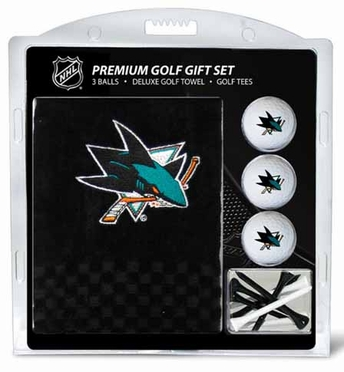 San Jose Sharks Embroidered Towel Gift Set