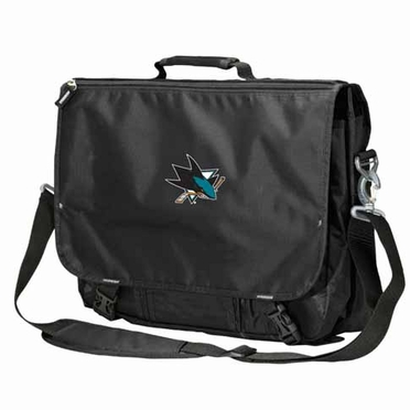 San Jose Sharks Executive Attache Messenger Bag
