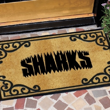 San Jose Sharks Exterior Door Mat