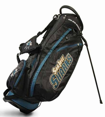 San Jose Sharks Fairway Stand Bag