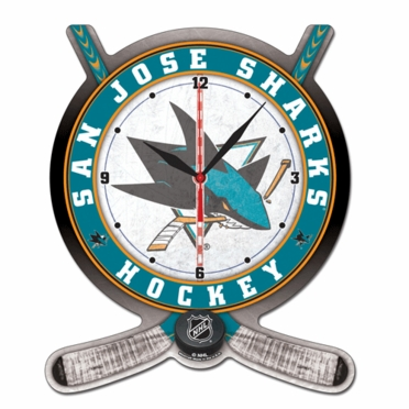 San Jose Sharks High Definition Wall Clock