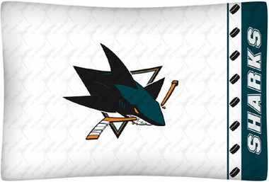 San Jose Sharks Individual Pillowcase