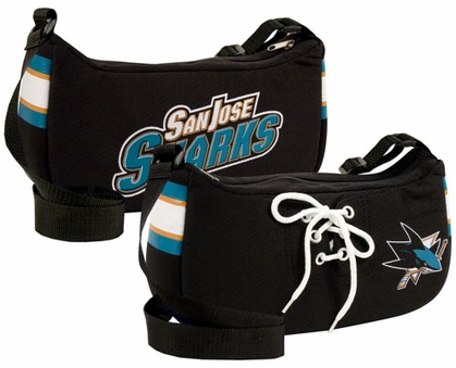 San Jose Sharks Jersey Material Purse