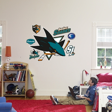 San Jose Sharks Logo Fathead Wall Graphic