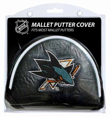San Jose Sharks Mallet Putter Cover
