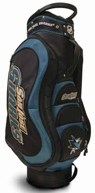 San Jose Sharks Medalist Cart Bag