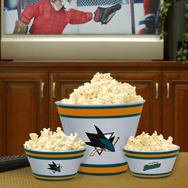 San Jose Sharks Plastic Serving Set