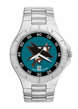 San Jose Sharks Pro II Men's Stainless Steel Watch