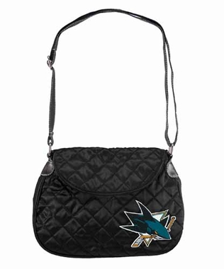 San Jose Sharks Quilted Saddlebag