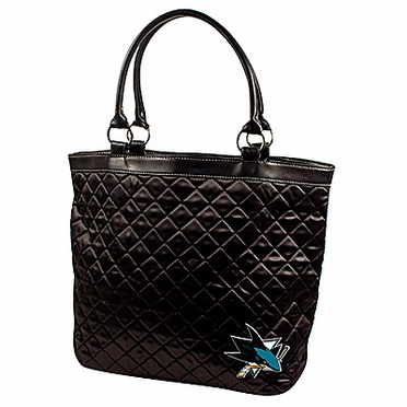 San Jose Sharks Quilted Tote