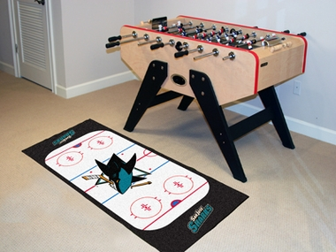 San Jose Sharks Rink Runner Rug