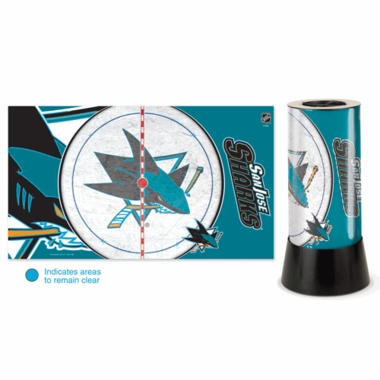 San Jose Sharks Rotating Lamp