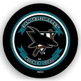 San Jose Sharks Spare Tire Cover (Small Size)