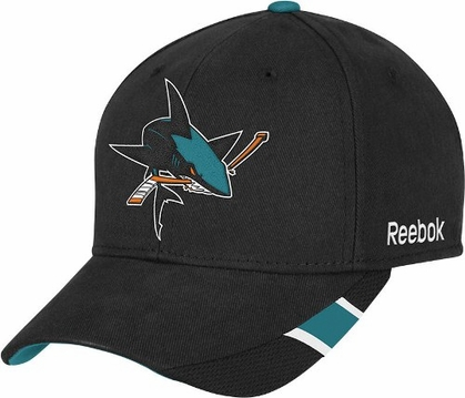 San Jose Sharks Structured Adjustable Third Jersey Logo Hat