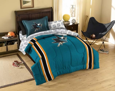 San Jose Sharks Twin Bed in a Bag