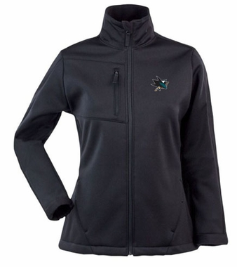 San Jose Sharks Womens Traverse Jacket (Color: Black)