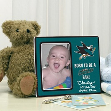 San Jose Sharks Youth Picture Frame