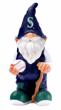 "Seattle Mariners Garden Gnome 11"" Male"