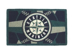 Seattle Mariners 18x30 Bleached Welcome Mat