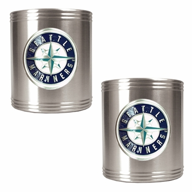 Seattle Mariners 2 Can Holder Set