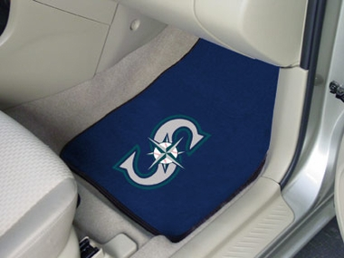 Seattle Mariners 2 Piece Car Mats