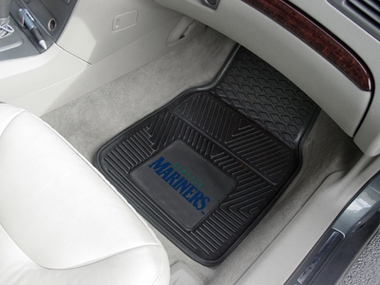 Seattle Mariners 2 Piece Heavy Duty Vinyl Car Mats