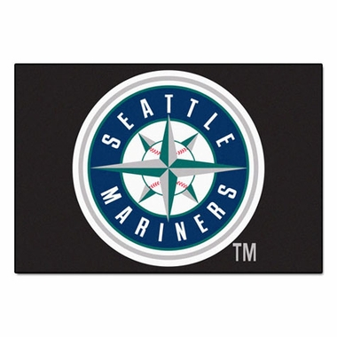 Seattle Mariners 20 x 30 Rug