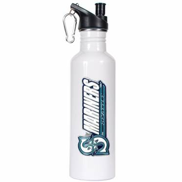 Seattle Mariners 26oz Stainless Steel Water Bottle (White)