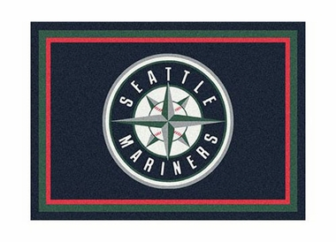 "Seattle Mariners 3'10"" x 5'4"" Premium Spirit Rug"