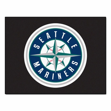 Seattle Mariners 34 x 45 Rug