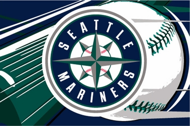 Seattle Mariners 40 x 60 Rug