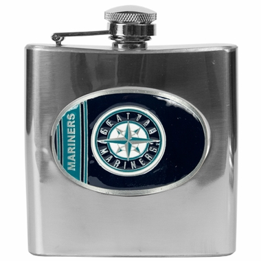 Seattle Mariners 6 oz. Hip Flask