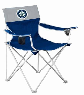 Seattle Mariners Big Boy Adult Folding Logo Chair