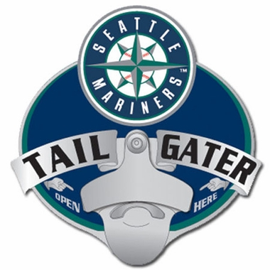 Seattle Mariners Bottle Opener Hitch Cover