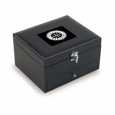 Seattle Mariners Cabernet Wine Service Box (Black)