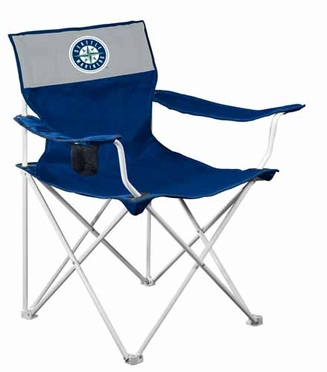 Seattle Mariners Canvas Adult Folding Logo Chair