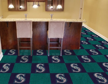 Seattle Mariners Carpet Tiles