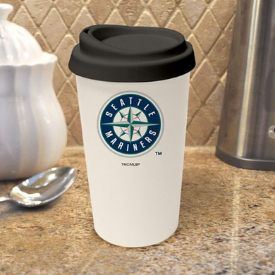 Seattle Mariners Ceramic Travel Cup