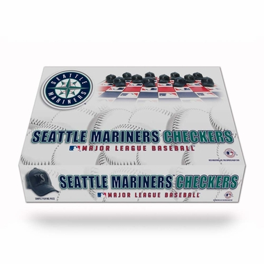 Seattle Mariners Checkers Set