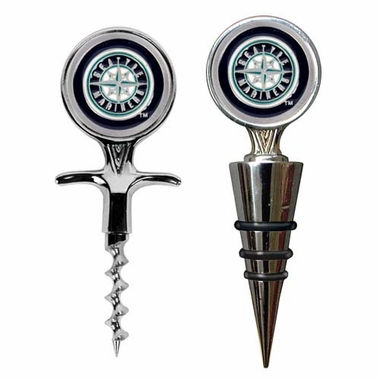 Seattle Mariners Corkscrew and Stopper Gift Set