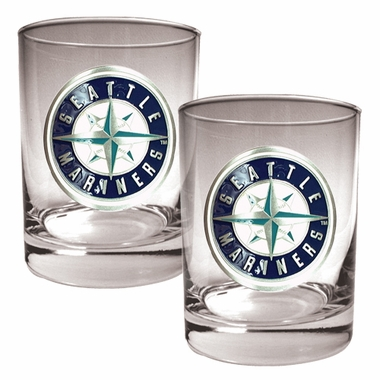 Seattle Mariners Double Rocks Set