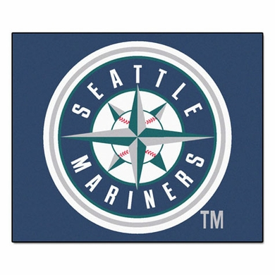 Seattle Mariners Economy 5 Foot x 6 Foot Mat