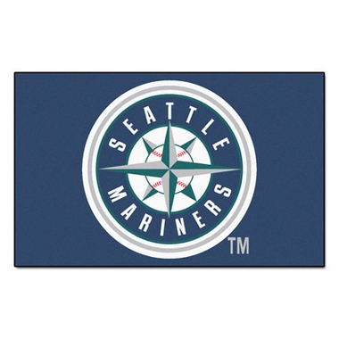 Seattle Mariners Economy 5 Foot x 8 Foot Mat