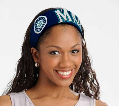 Seattle Mariners FanBand Hair Band