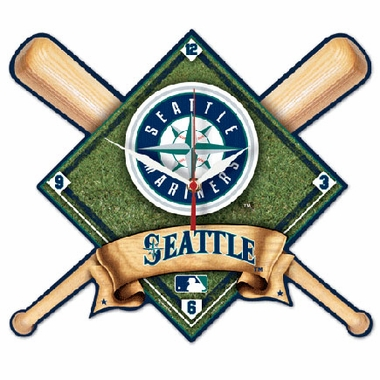 Seattle Mariners High Definition Wall Clock
