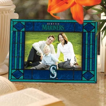 Seattle Mariners Landscape Art Glass Picture Frame