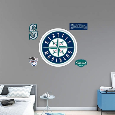 Seattle Mariners Logo Fathead Wall Graphic