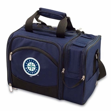 Seattle Mariners Malibu Picnic Cooler (Navy)