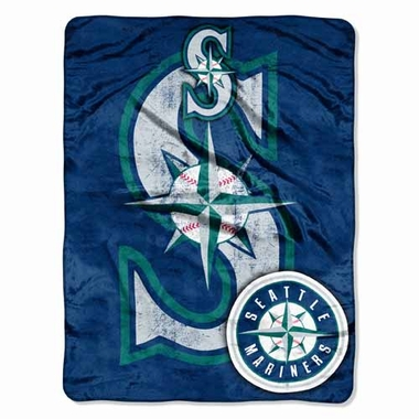 Seattle Mariners Microfiber Throw